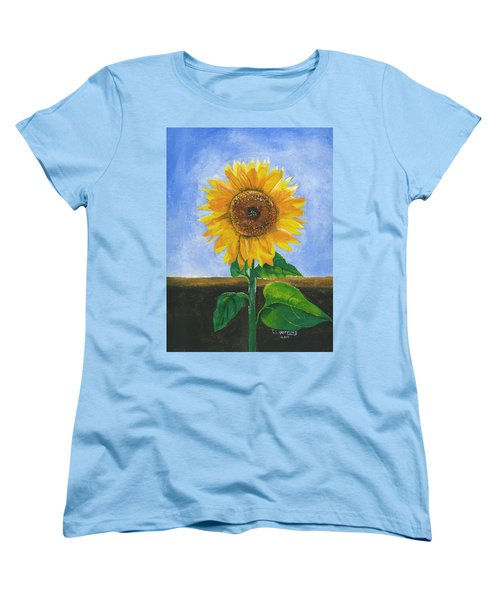 Sunflower Series Two Women's T-Shirt (Standard Cut) by Thomas J Herring