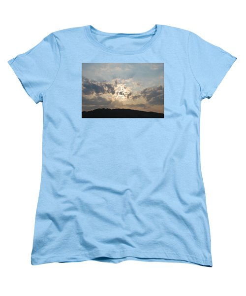 Women's T-Shirt (Standard Cut) featuring the photograph Sunrise 1 by George Katechis