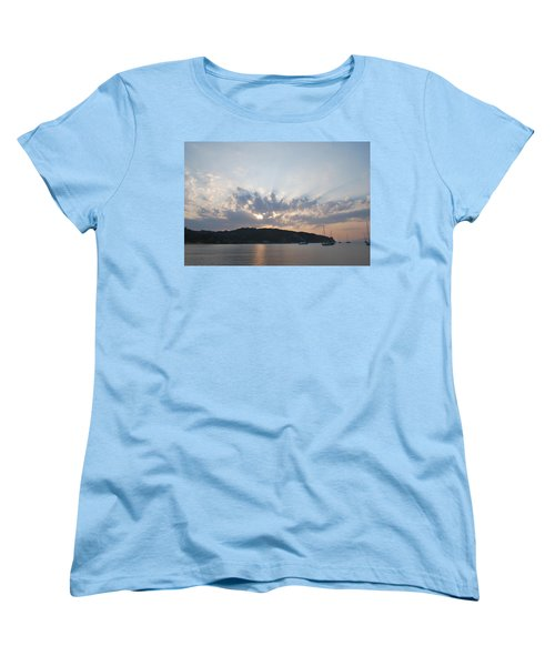 Women's T-Shirt (Standard Cut) featuring the photograph Sunrise by George Katechis