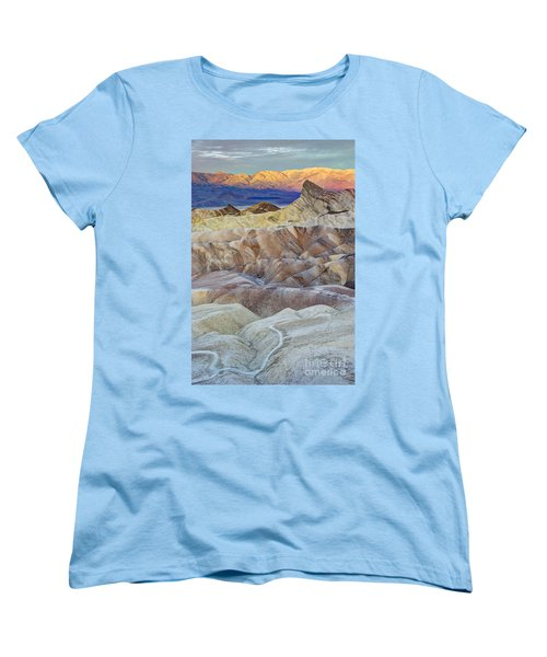 Sunrise In Death Valley Women's T-Shirt (Standard Cut) by Juli Scalzi