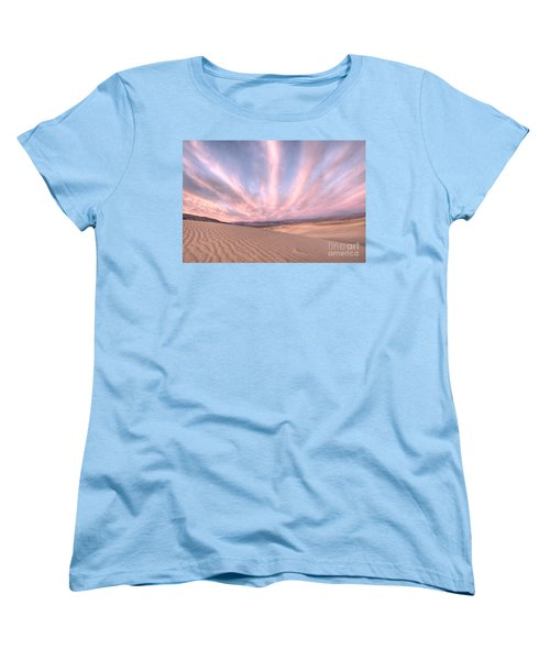 Sunrise Over Sand Dunes Women's T-Shirt (Standard Cut) by Juli Scalzi