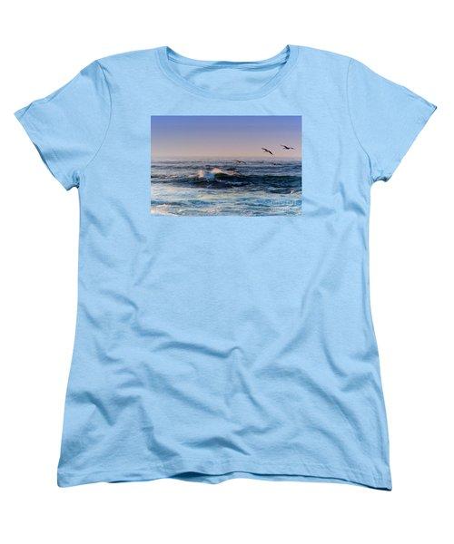 Sunset Fly Women's T-Shirt (Standard Cut)