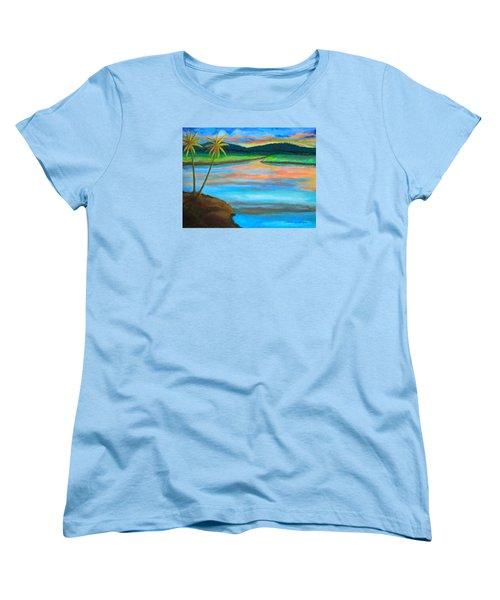 Sunset  Women's T-Shirt (Standard Cut) by Lorna Maza