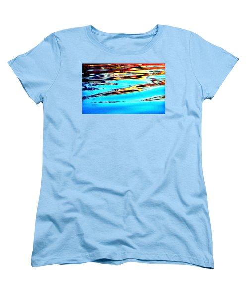 Sunset On Water Women's T-Shirt (Standard Cut)