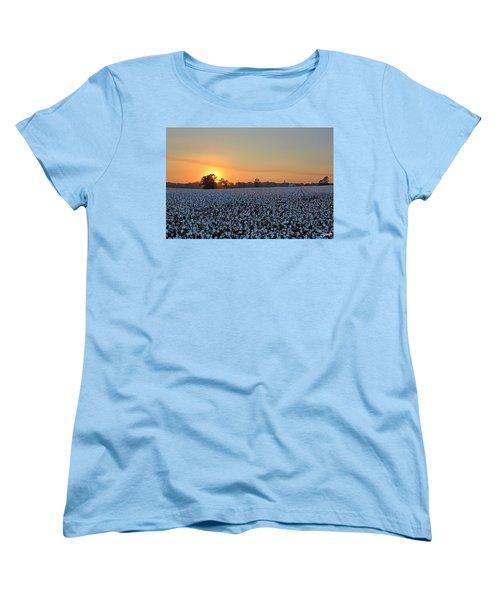 Sunset Row Women's T-Shirt (Standard Cut)