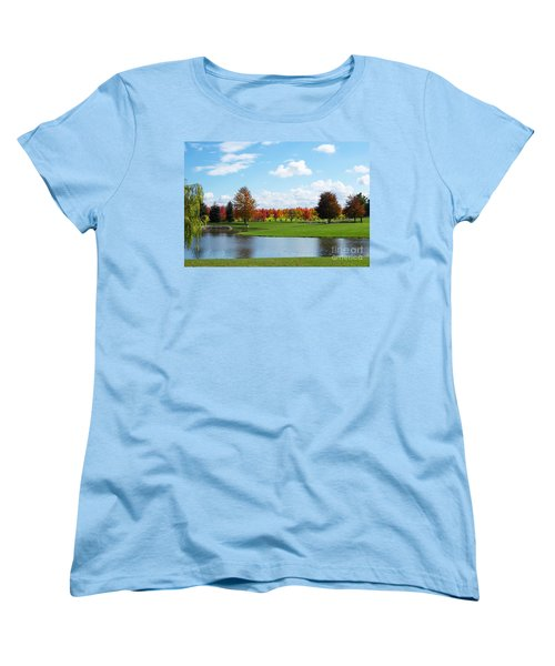 Sunshine On A Country Estate Women's T-Shirt (Standard Cut) by Barbara McMahon