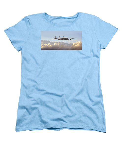 Super Constellation - End Of An Era Women's T-Shirt (Standard Cut) by Pat Speirs