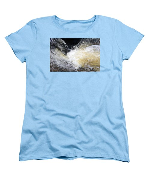 Women's T-Shirt (Standard Cut) featuring the photograph Surging Waters by Tara Potts