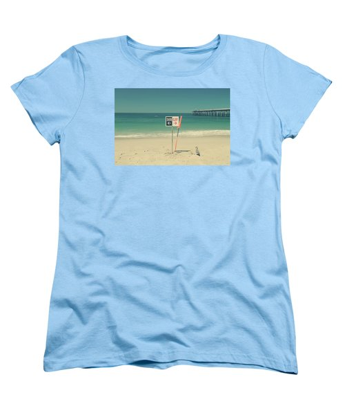 Swim And Surf Women's T-Shirt (Standard Cut) by Laurie Search