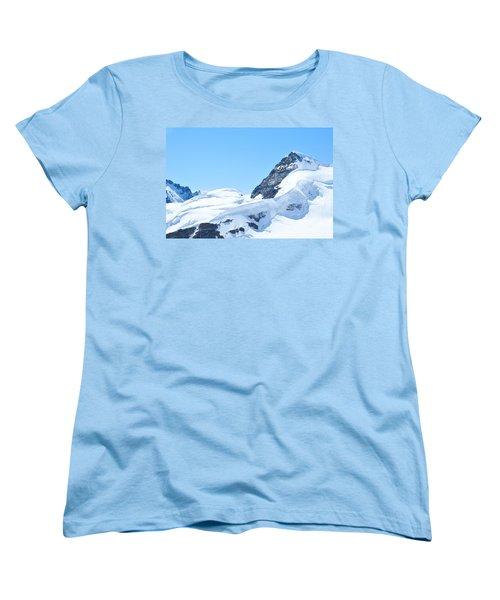 Swiss Alps Women's T-Shirt (Standard Cut) by Joe  Ng
