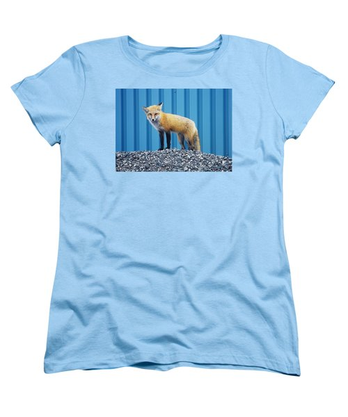 Sydney Fox Women's T-Shirt (Standard Cut) by Jason Lees