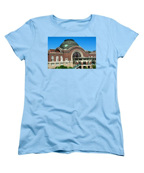 Tacoma Court House At Union Station Women's T-Shirt (Standard Cut) by Tikvah's Hope