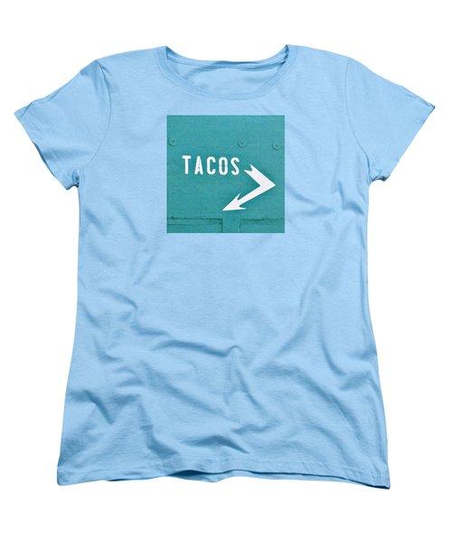 Tacos Women's T-Shirt (Standard Cut) by Art Block Collections