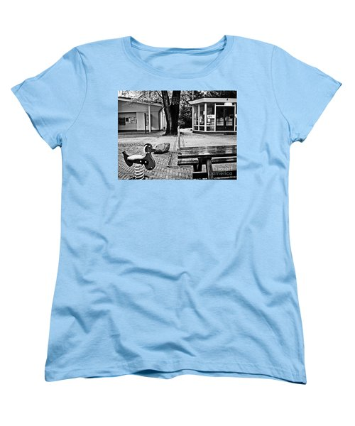 Women's T-Shirt (Standard Cut) featuring the photograph Taking A Break by Andy Prendy
