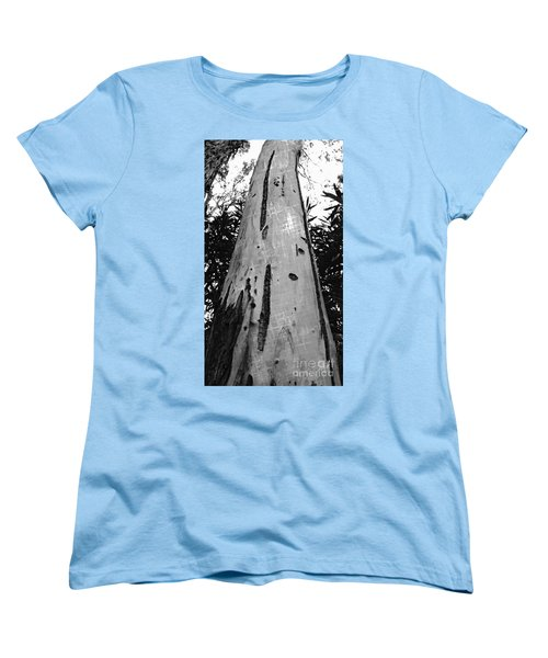 Women's T-Shirt (Standard Cut) featuring the photograph Tall by Clare Bevan