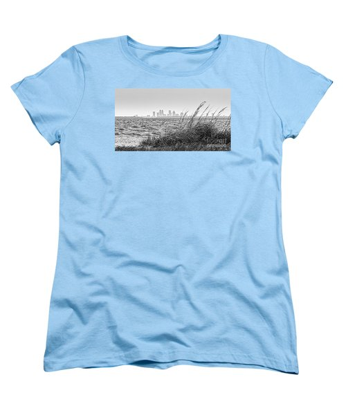 Tampa Across The Bay Women's T-Shirt (Standard Cut) by Marvin Spates