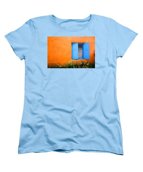 Taos Window IIi Women's T-Shirt (Standard Cut) by Lanita Williams