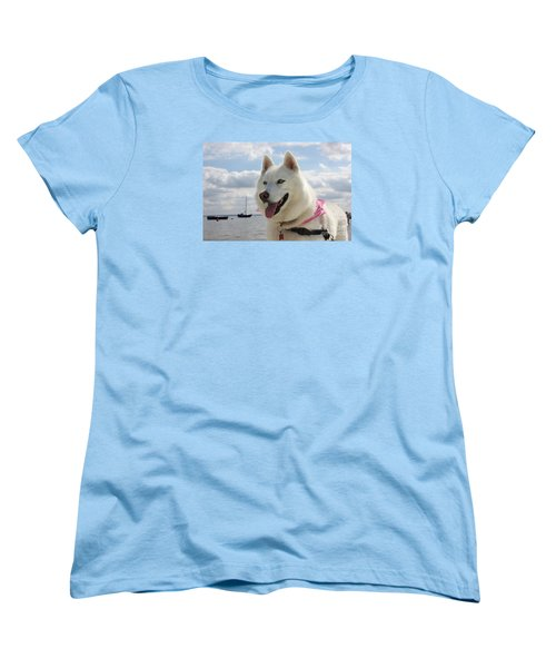 Women's T-Shirt (Standard Cut) featuring the photograph Tehya by Vicki Spindler