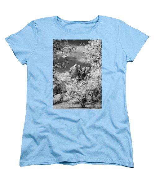 Texas Canyon  Women's T-Shirt (Standard Cut) by Michael McGowan