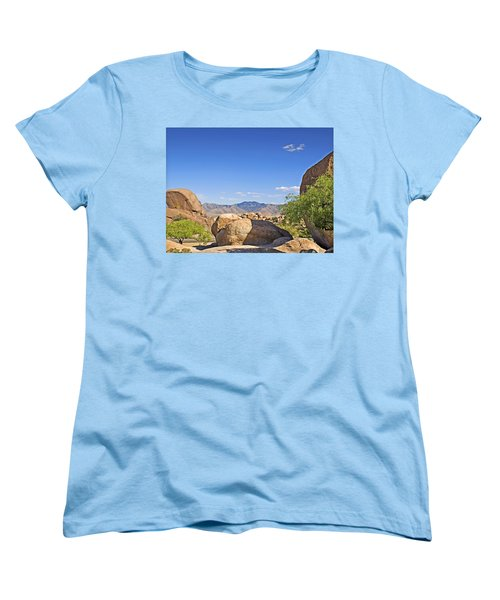 Texas Canyon Women's T-Shirt (Standard Cut) by Walter Herrit