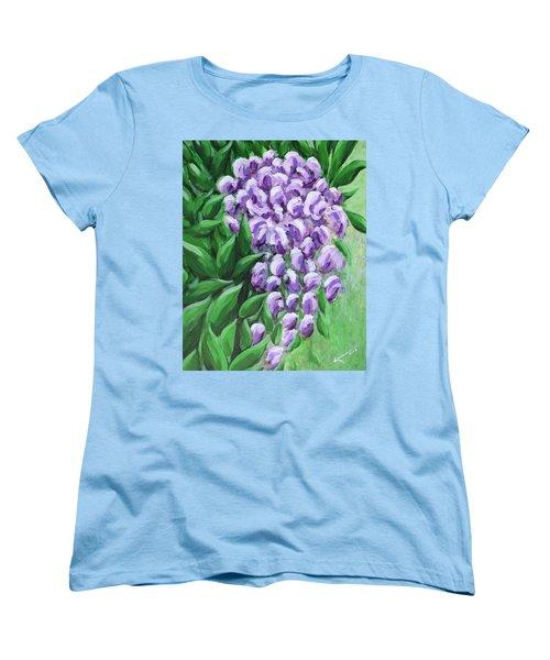 Texas Mountain Laurel Women's T-Shirt (Standard Cut) by Kume Bryant