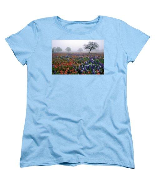 Texas Spring - Fs000559 Women's T-Shirt (Standard Cut) by Daniel Dempster