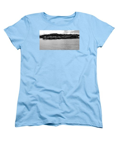Women's T-Shirt (Standard Cut) featuring the photograph Thai Village by Andrea Anderegg