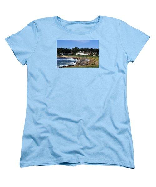 The 18th At Pebble Beach Women's T-Shirt (Standard Cut)