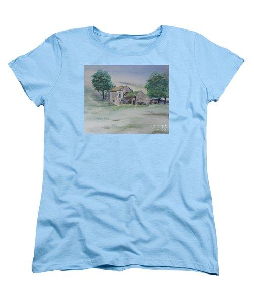 The Abandoned House Women's T-Shirt (Standard Cut) by Martin Howard