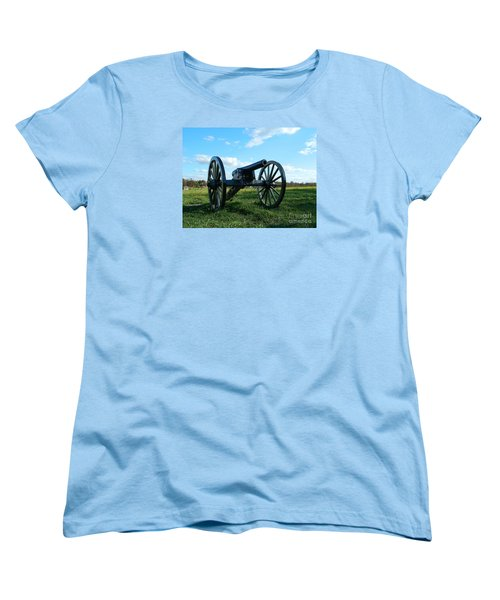 Women's T-Shirt (Standard Cut) featuring the photograph The Battle Is Over - Gettysburg by Emmy Marie Vickers