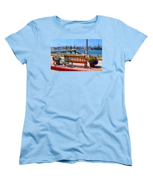 The Beach Cruiser Women's T-Shirt (Standard Cut) by Michael Pickett