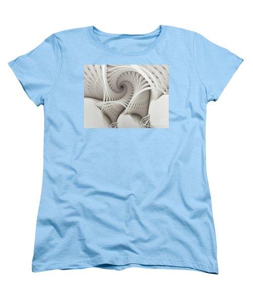 The Beauty Of Math-fractal Art Women's T-Shirt (Standard Cut) by Karin Kuhlmann