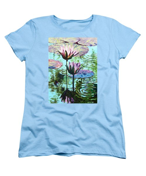 The Beauty Of The Lilies Women's T-Shirt (Standard Cut) by John Lautermilch