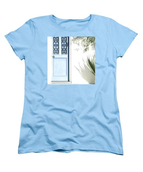 The Blue Door Women's T-Shirt (Standard Cut) by Holly Kempe