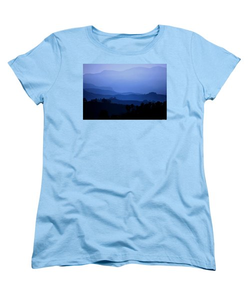 The Blue Hills Women's T-Shirt (Standard Cut) by Matt Harang