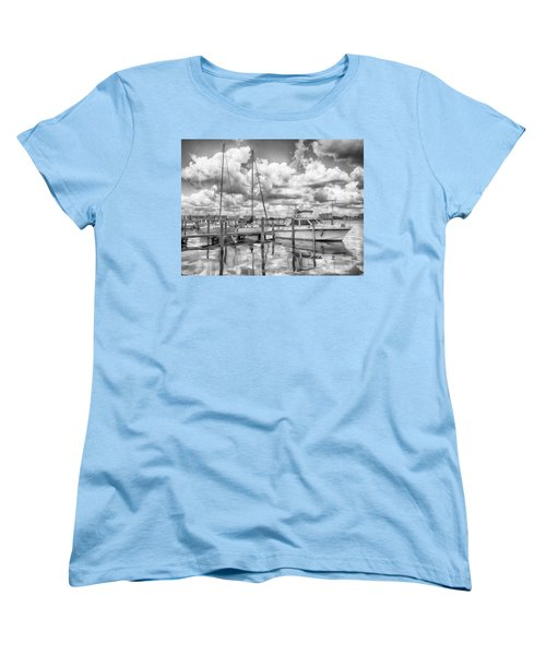 Women's T-Shirt (Standard Cut) featuring the photograph The Boat by Howard Salmon