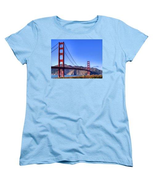 The Bridge Women's T-Shirt (Standard Cut) by Bill Gallagher