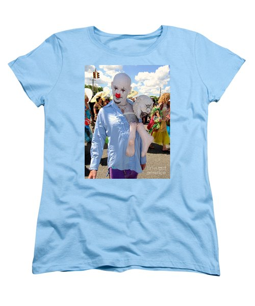 Women's T-Shirt (Standard Cut) featuring the photograph The Clown by Ed Weidman