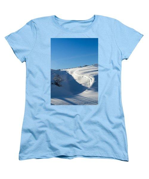 The Colors Of Snow Women's T-Shirt (Standard Cut)