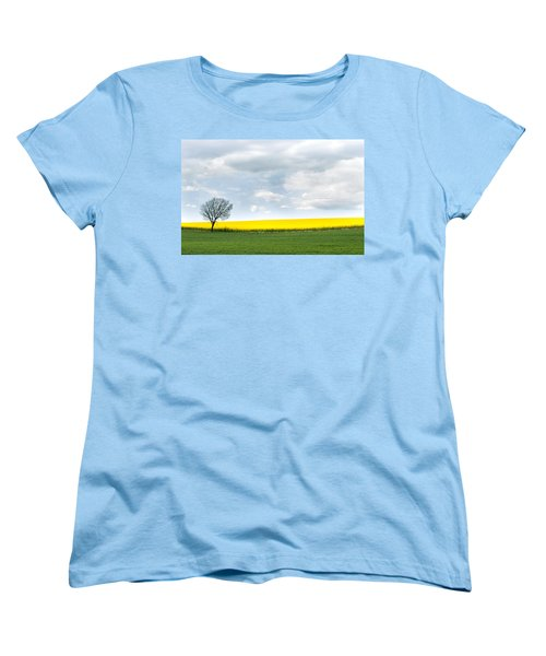 The Colors Of Spring Women's T-Shirt (Standard Cut) by Mike Santis