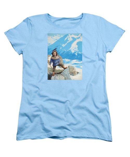 The Conquerer. Women's T-Shirt (Standard Cut) by Vivien Rhyan