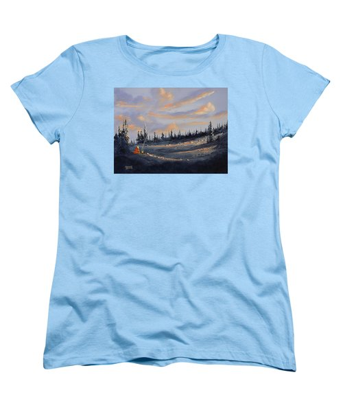 The Days End Women's T-Shirt (Standard Cut) by Richard Faulkner