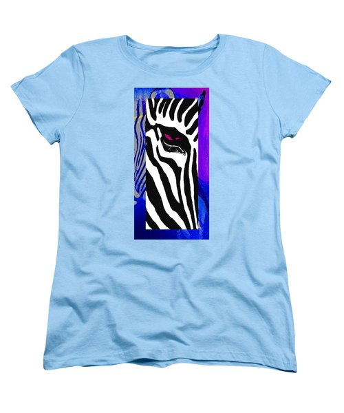 Women's T-Shirt (Standard Cut) featuring the photograph The Eye Beholds by I'ina Van Lawick