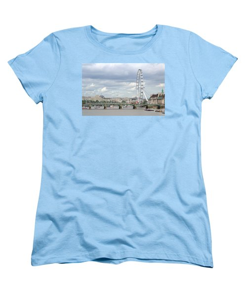 The Eye Of London Women's T-Shirt (Standard Cut) by Keith Armstrong