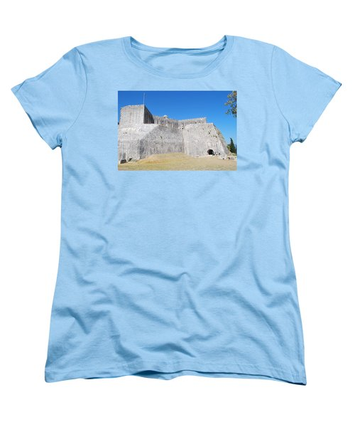 Women's T-Shirt (Standard Cut) featuring the photograph The Fort Never Fell by George Katechis