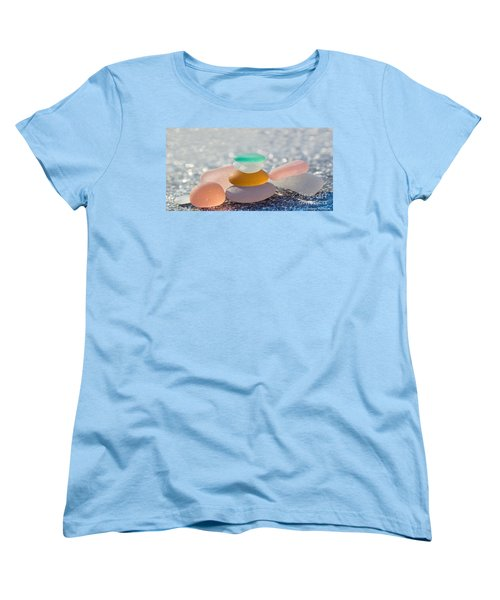 The Glass House Women's T-Shirt (Standard Cut) by Barbara McMahon