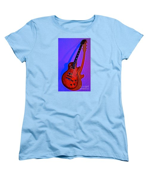 The Guitar After Party Women's T-Shirt (Standard Cut) by Gem S Visionary
