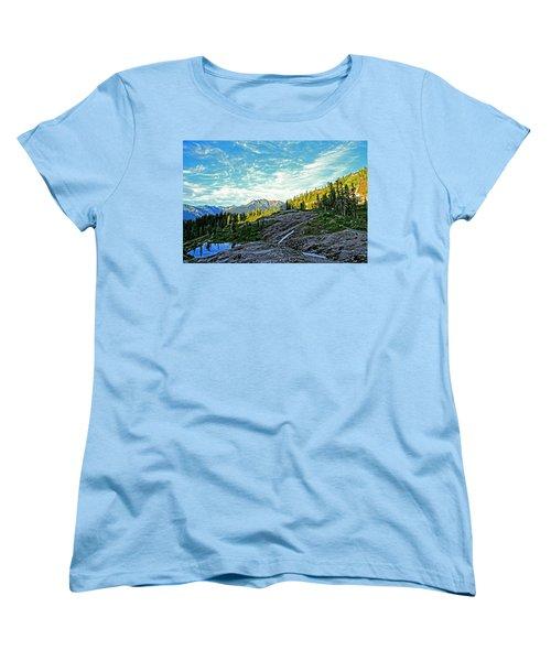 Women's T-Shirt (Standard Cut) featuring the photograph The Hut. by Eti Reid