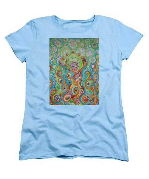The Juggler Of Junkadelphia Women's T-Shirt (Standard Cut) by Douglas Fromm