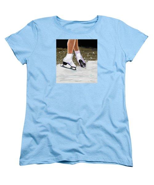 The Jump Women's T-Shirt (Standard Cut) by Jeanne Fischer